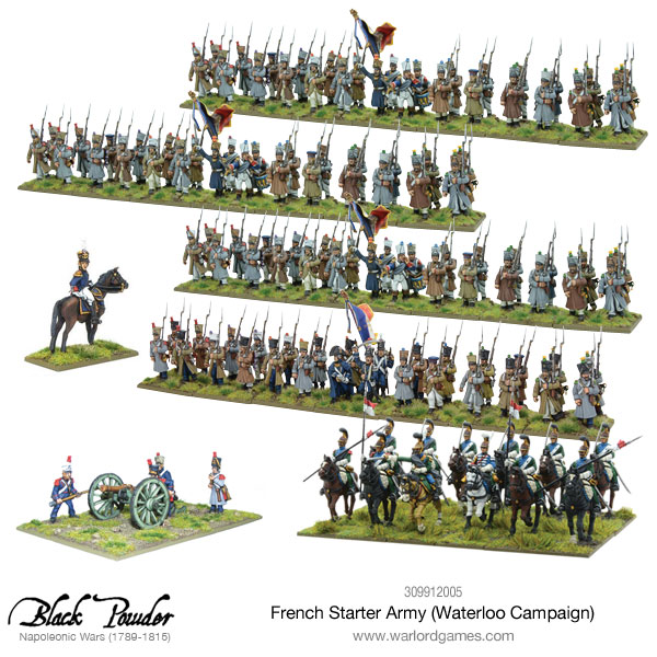 French Waterloo Starter Army
