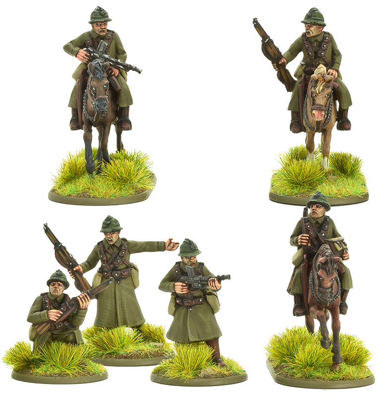 New Bolt Action French Cavalry B