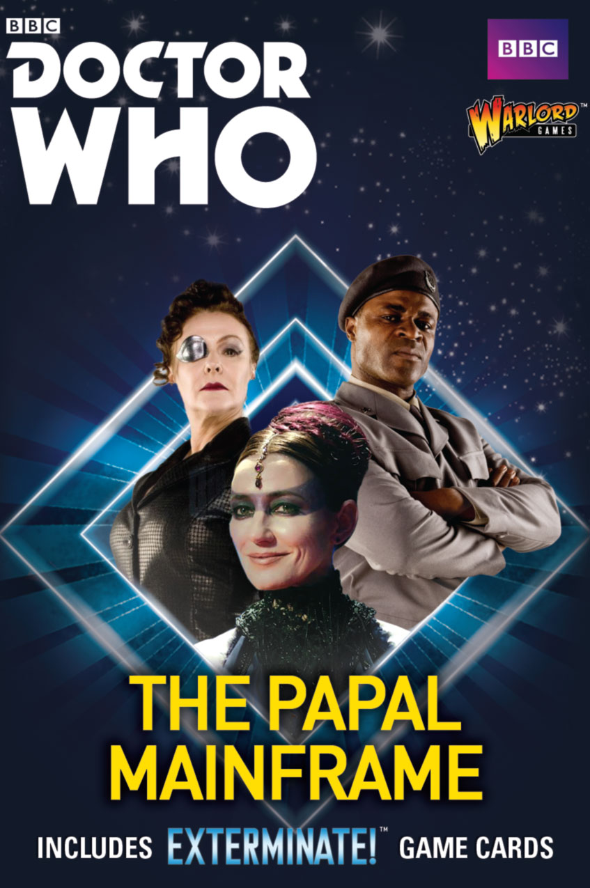 Coming Soon Doctor Who The Papal Mainframe