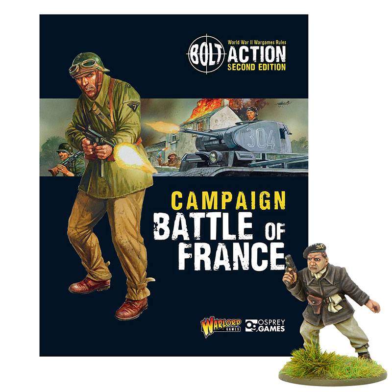 New Bolt Action Campaign Book Battle of France