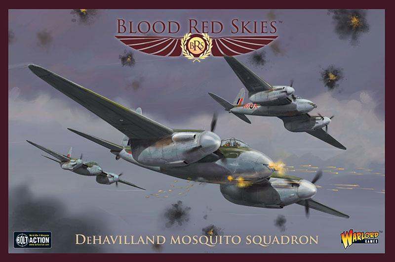 New Blood Red Skies British De Havilland Mosquito Squadron