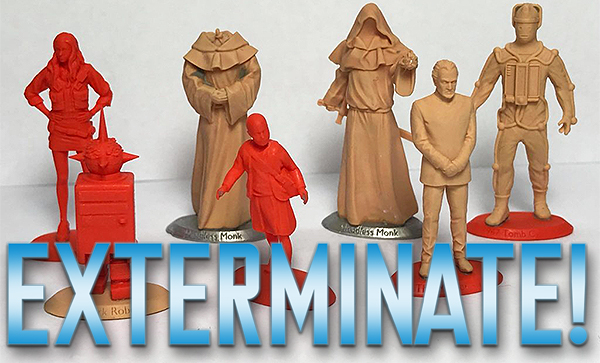 Doctor Who Exterminate Figure Preview