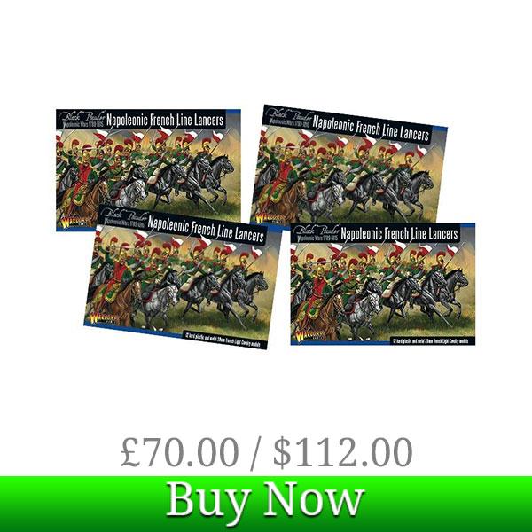 Black Powder Napoleonic Line Lancer Division