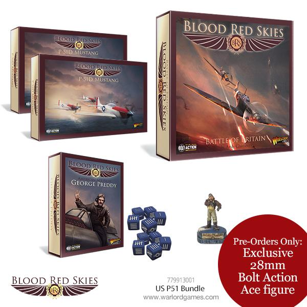 Blood Red Skies US P-51 Bundle in store: