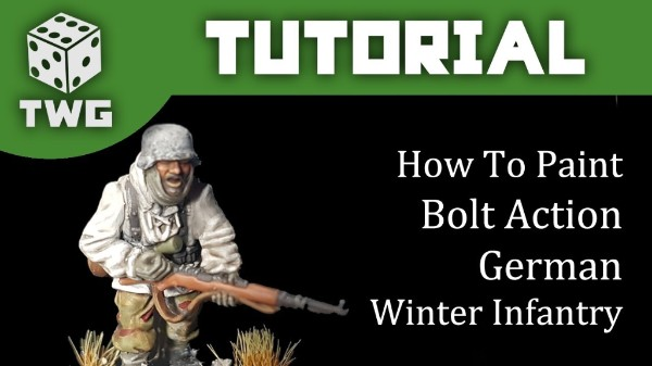 Bolt Action Tutorial: How To Paint German Winter Infantry