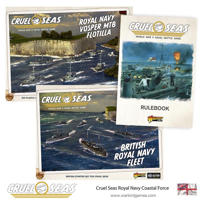 Pre-order Cruel Seas British Royal Navy Coastal Force