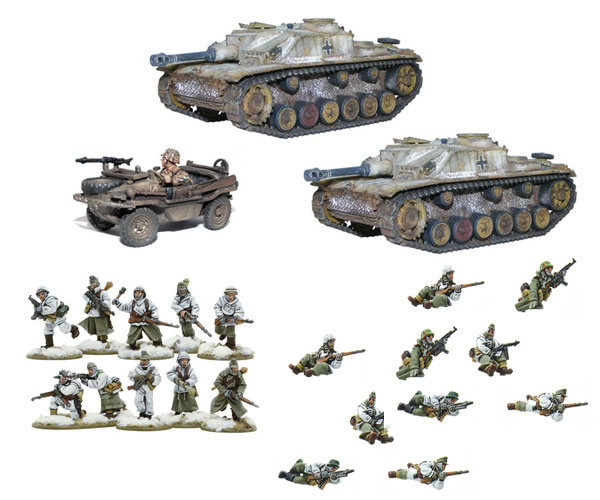 New Bolt Action German Stug Riders bundle
