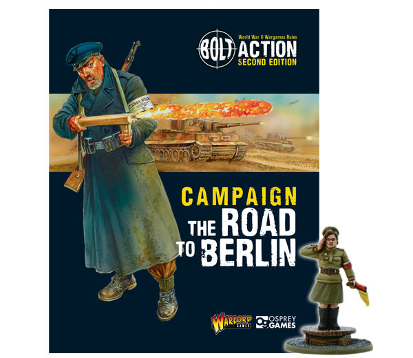New Bolt Action Campaign Book Road To Berlin