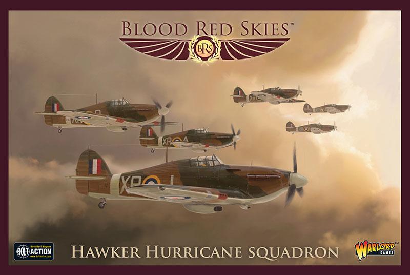 New Blood Red Skies British Hawker Hurricane Squadron Box