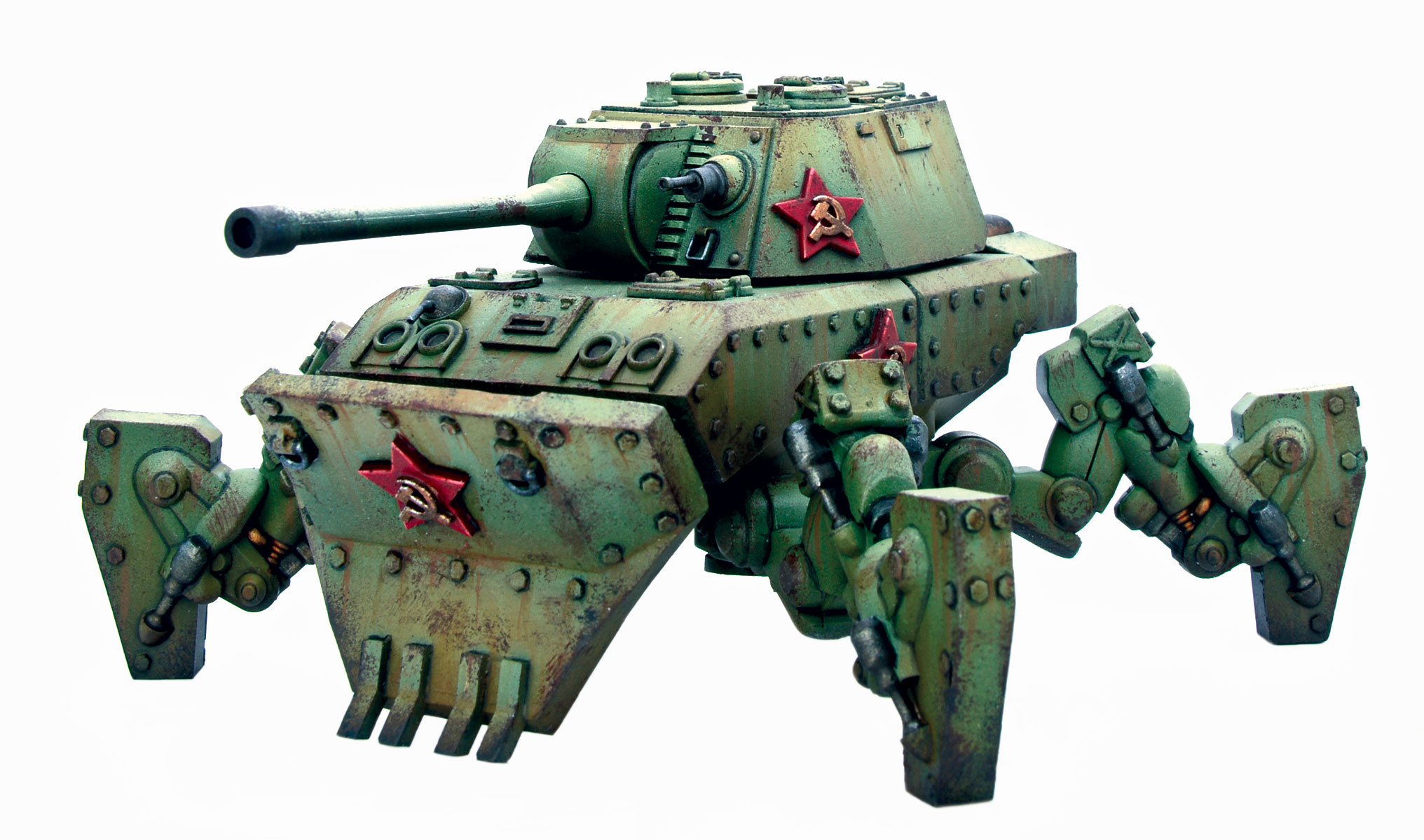 Coming Soon Konflikt '47 Soviet Mastadon Heavy Walker