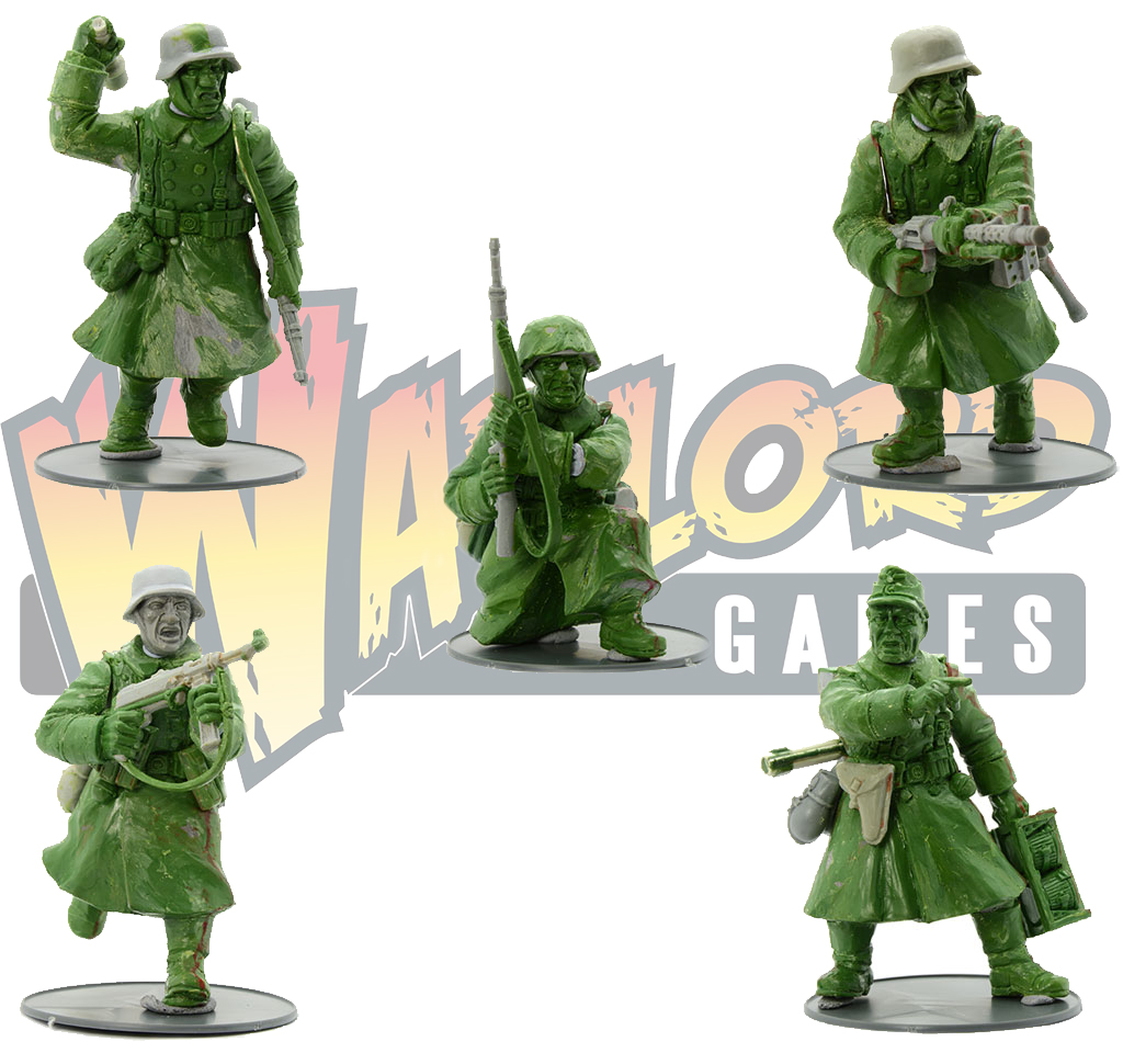 Coming Soon Bolt Action Plastic Winter Germans