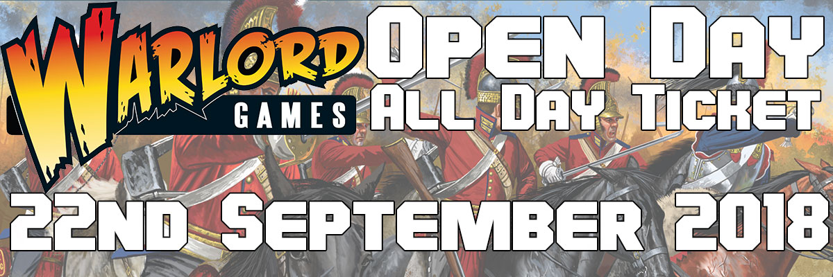 Warlord Open Day 22nd Sep