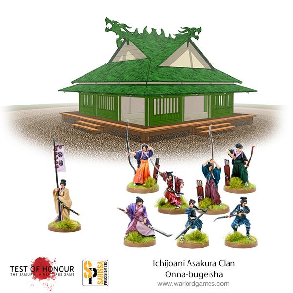 Test of Honour Ichijoani Asakura Clan Onna Bugeisha