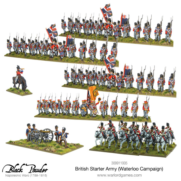 British Waterloo Starter Army