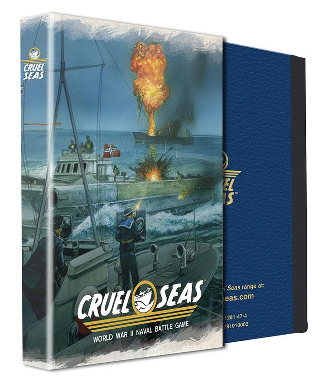 Pre-order Cruel Seas Special Edition Rulebook