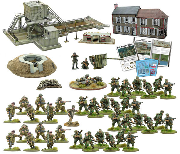 New Bolt Action Pegasus Bridge Second Edition contents