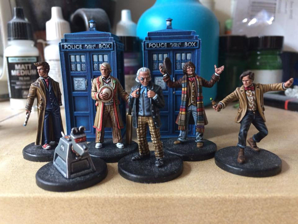 Daniel Read's Doctor Who Miniatures