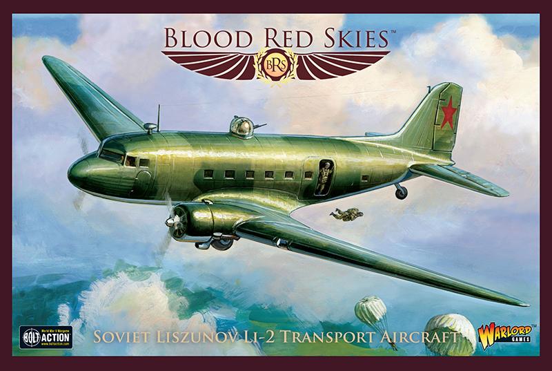Pre-Order Blood Red Skies Soviet Liszunov LI-2 Transport