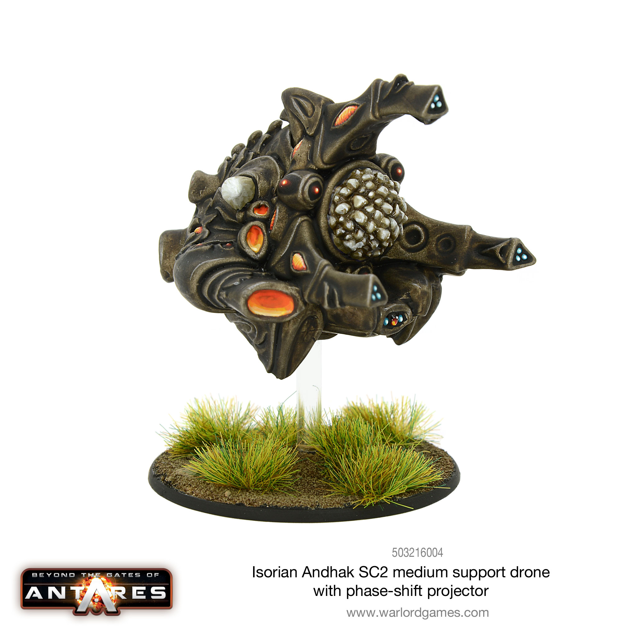 Isorian Andhak SC2 Medium Support Drone withPhase-shift Projector