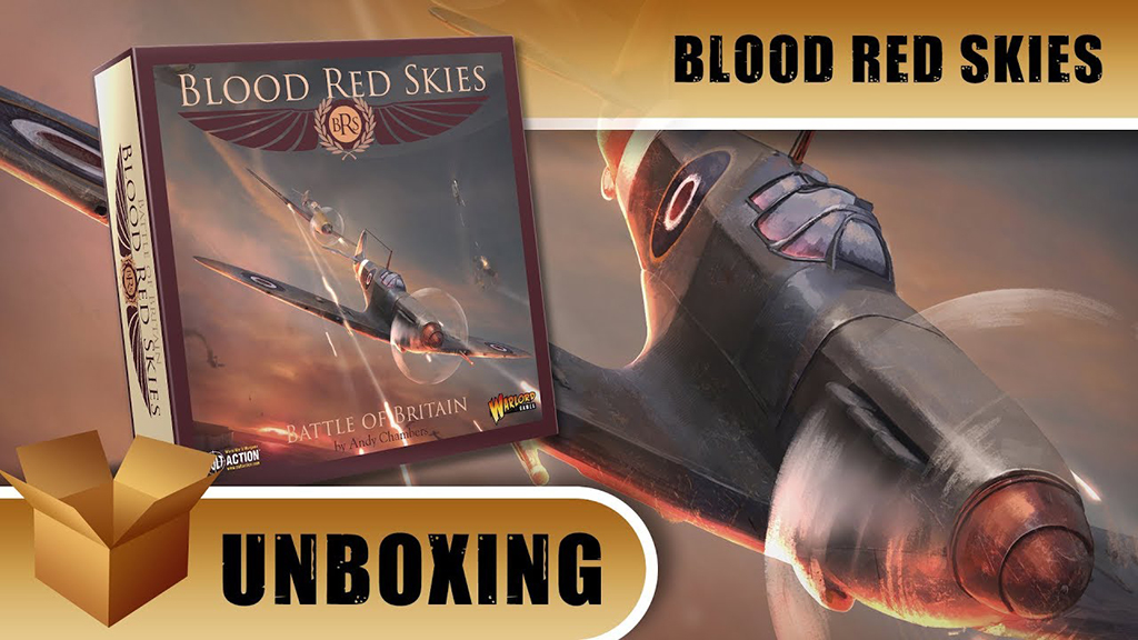 Beasts of War Blood Red Skies Banner