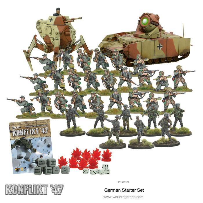 German Konflikt '47 Starter Set