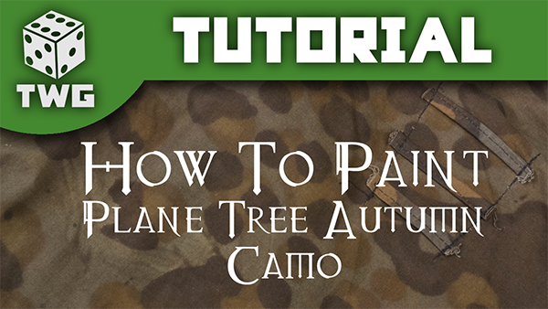 Advanced Techniques: Waffen-SS Plane Tree Autumn Camo by Pete Harrison