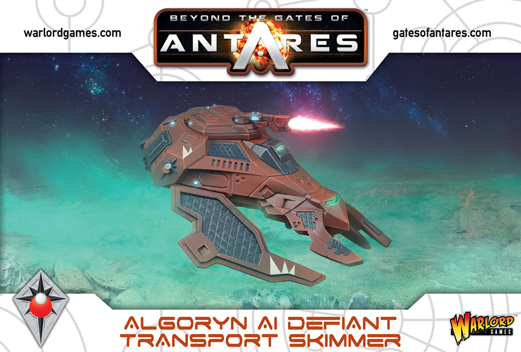 New Gates of Antares Algoryn Defiant Transport Skimmer