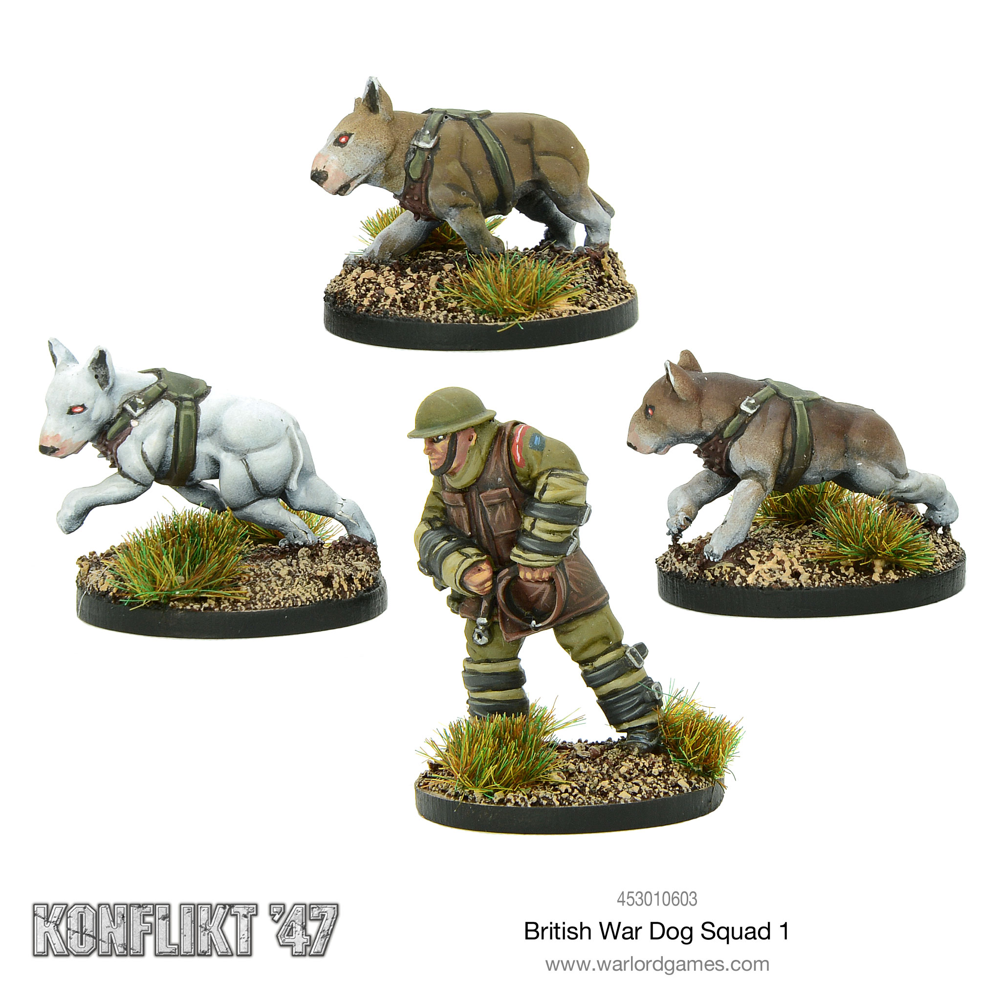 British War Dog Squad 1 for Konflikt'47
