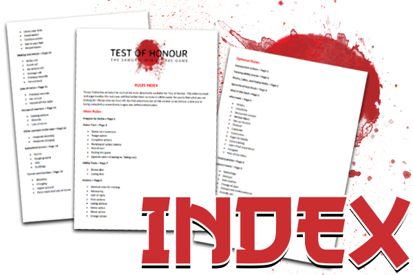 Test of Honour index