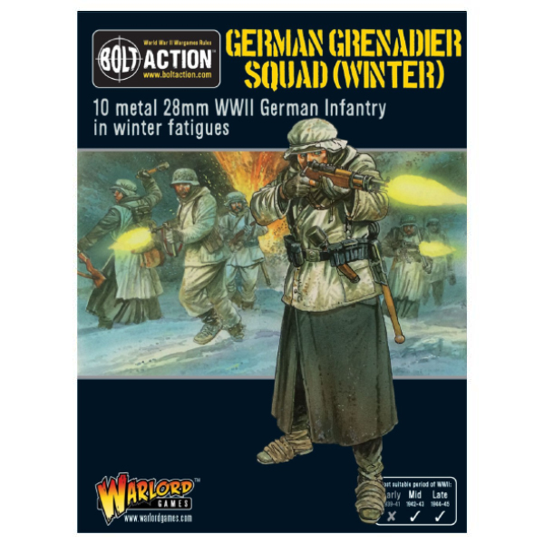 German Winter Grenadier Squad