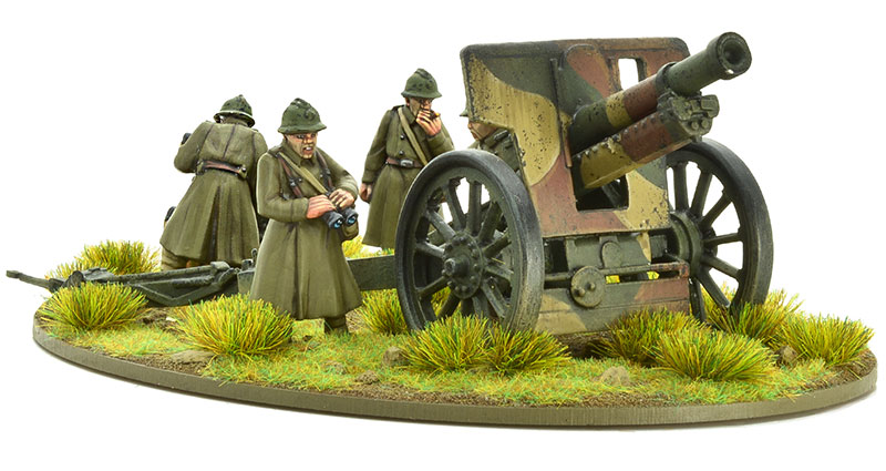 New Bolt Action French 105mm Medium Howitzer