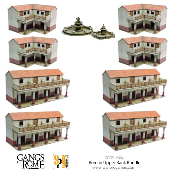 Gangs of Rome Rome Upper Rank Bundle