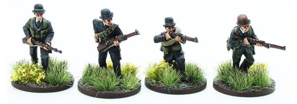 New Bolt Action Opertation Sea Lion Footsore Miniatures Bank Section