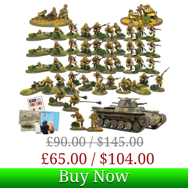Bolt Action Japanese starter army Box Deal