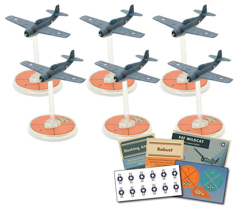 New Blood Red Skies US F4F Wildcat Squadron