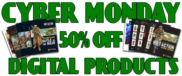 Cyber Monday 50% off offer