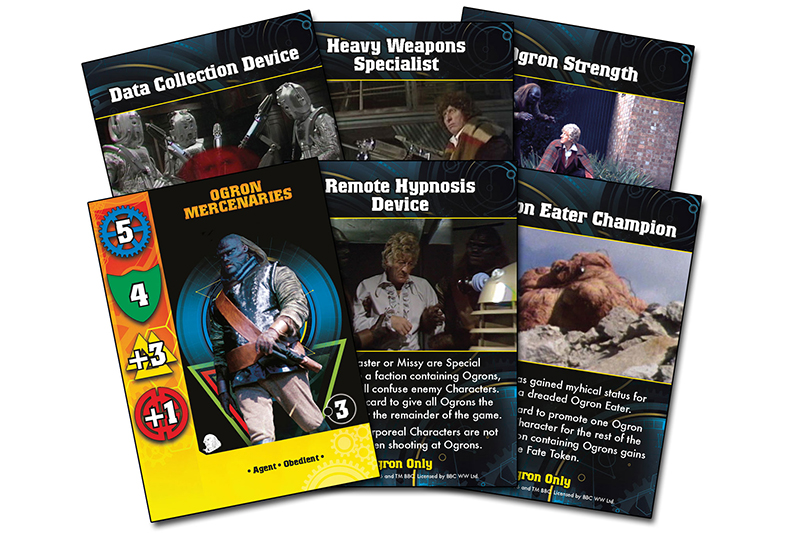 New Doctor Who Ogrons Card Set