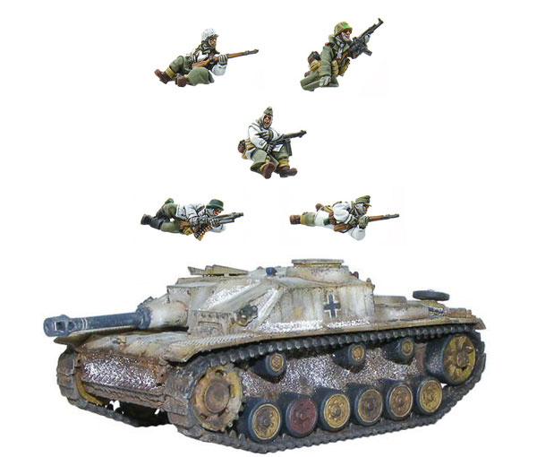 New Bolt Action German Stug Riders bundle 2