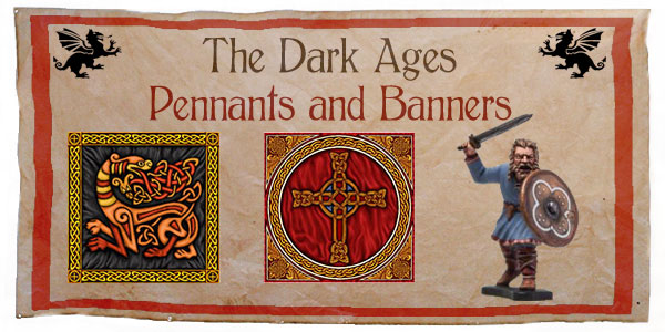 New Hail Caesar The Dark Ages Banners and Shields