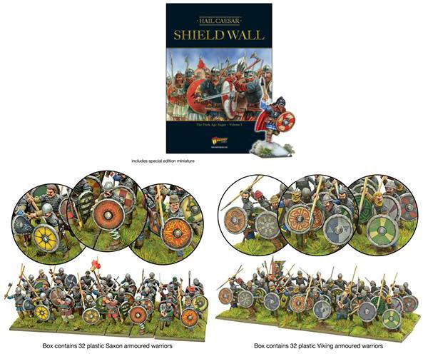 Coming Soon Hail Caesar Shield Wall Skirmish Starter