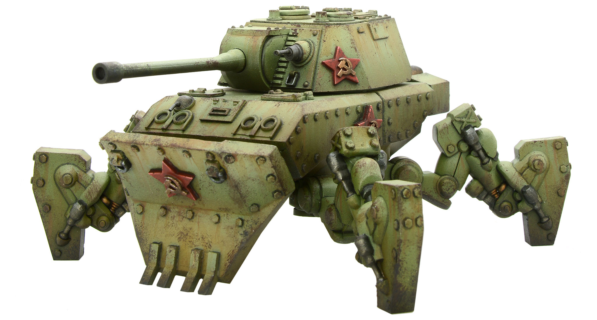 New Konflikt '47 Soviet Mastadon Heavy Walker