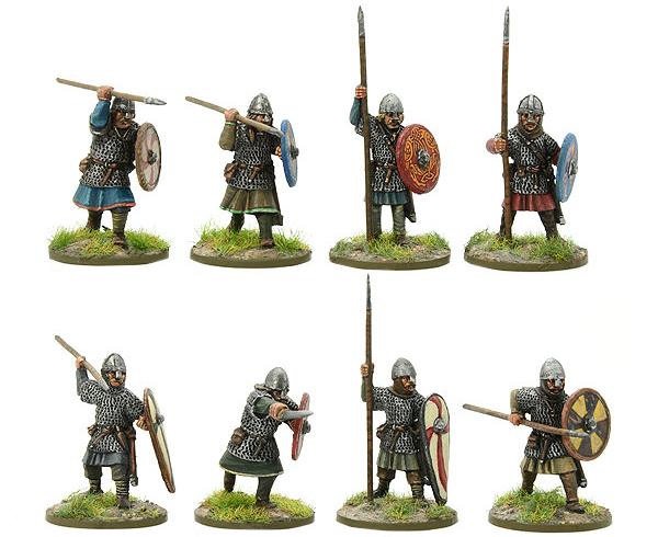 New Hail Caesar SAGA Saxon Huscarl Group B