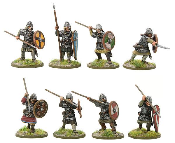 New Hail Caesar SAGA Saxon Huscarl Group A
