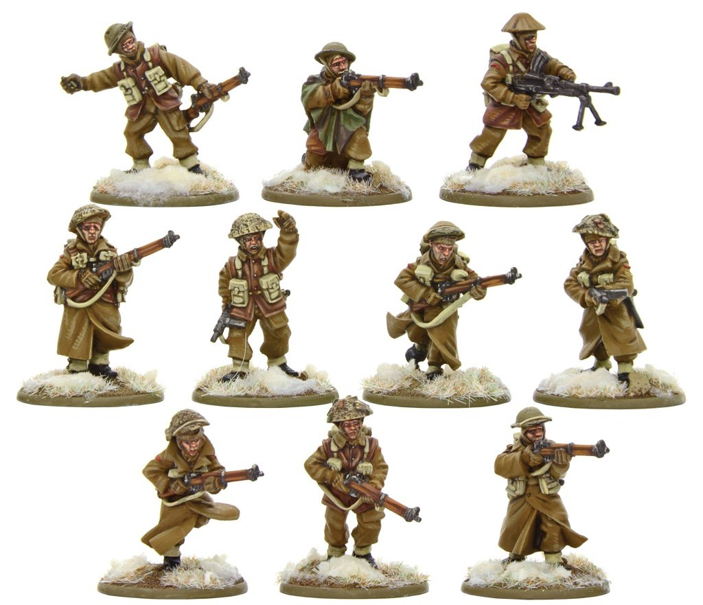 British Infantry Section