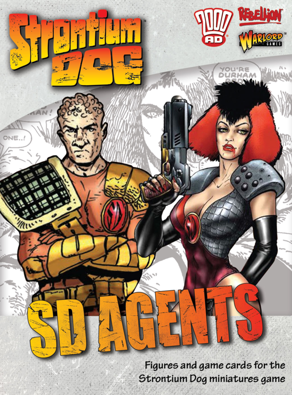 New Strontium Dog SD Agents