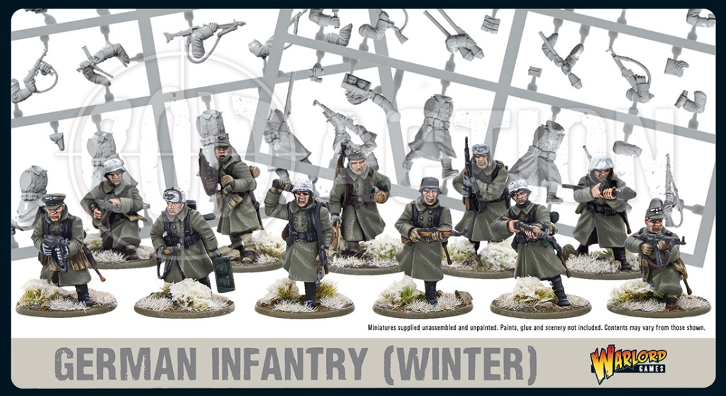 German Winter Infantry