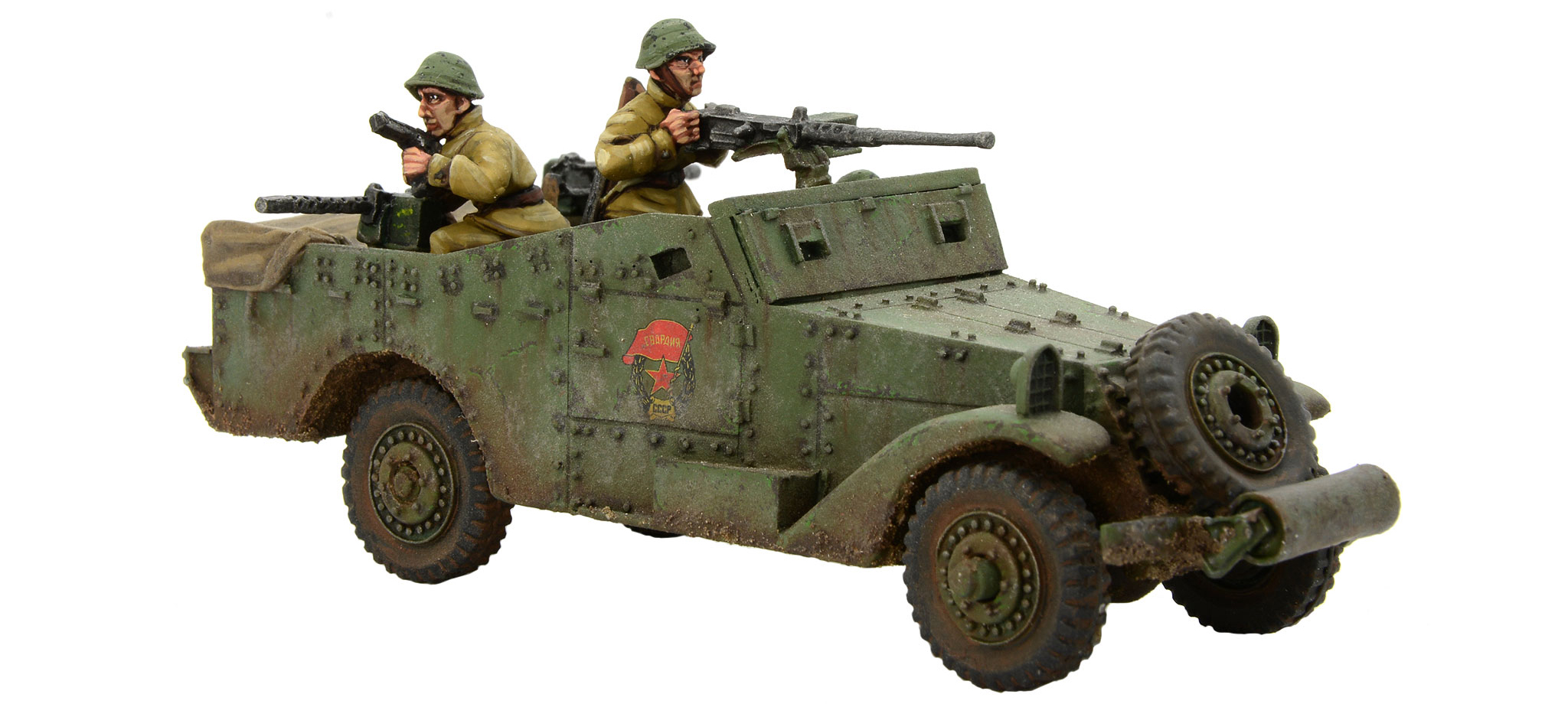 New Bolt Action Soviet M3 White Scout Car
