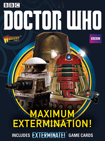 New Doctor Who Maximum Extermination Box Set pre-order here