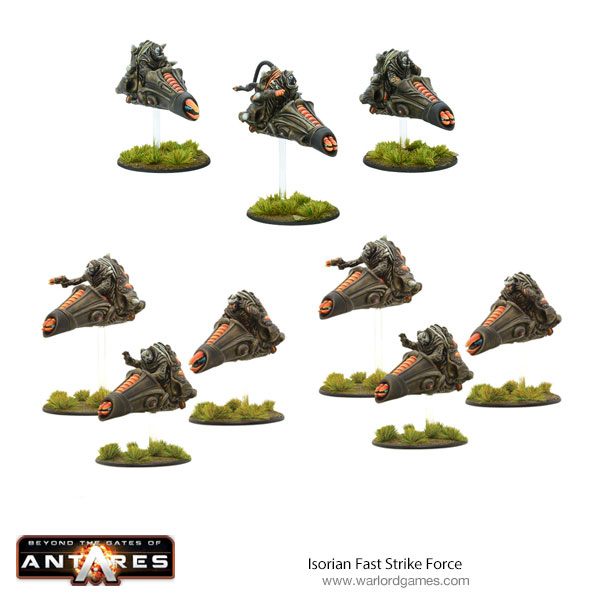 New Gates of Antares Isorian Fast Strike Force Bundle