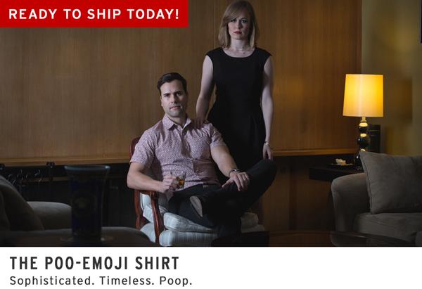 Poo-Emoji Shirt